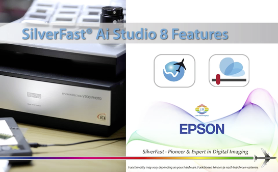 Buy Scanner Software for Epson - better Scan Results with SilverFast