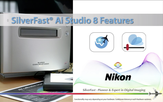 Buy Scanner Software for Nikon - better Scan Results with