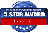 Award findmysoft.com