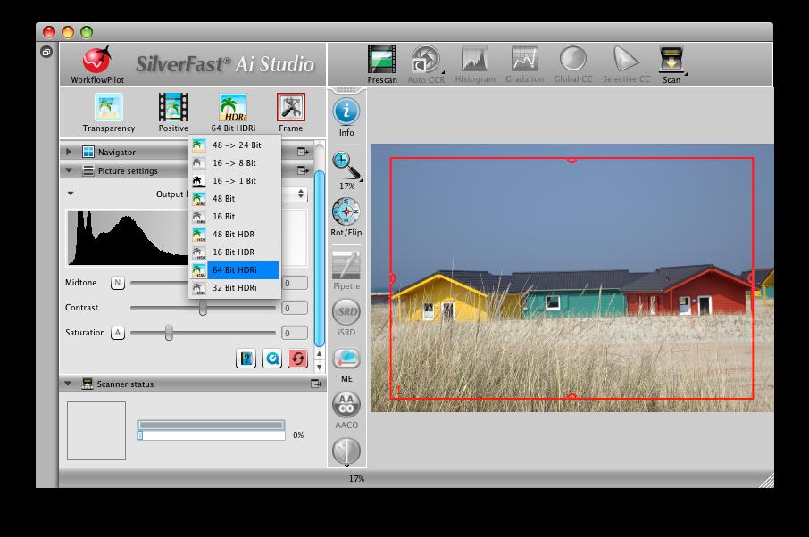 SilverFast 64bit HDRi :: LaserSoft Imaging
