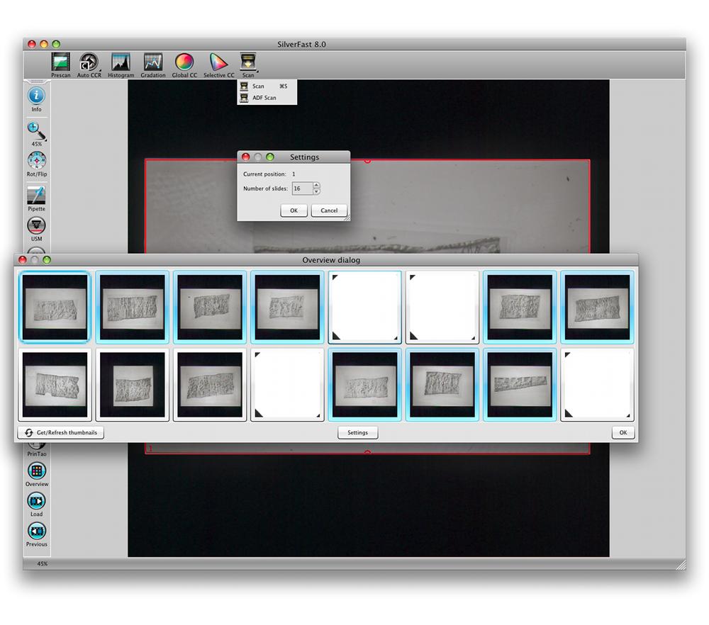 SilverFast Batch Scanning :: LaserSoft Imaging