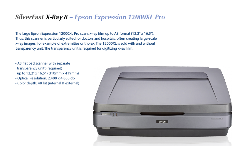 Epson Expression 10000XL Photo Scanner ICM Color Profile Module 64Bit