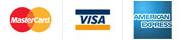 MasterCard / Visa / American Express