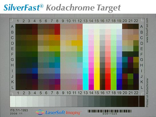 Kodachrome Calibration Targets :: LaserSoft Imaging