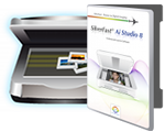 Scanner und SilverFast Software Box