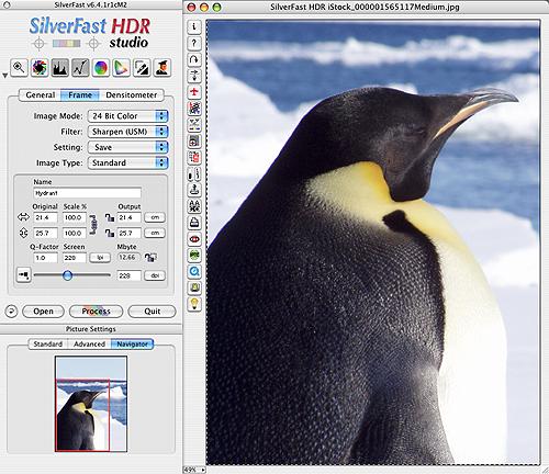 SilverFast Screenshot HDR Studio