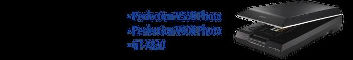 Perfection V550 Photo, Perfection V600 Photo, GT-X830